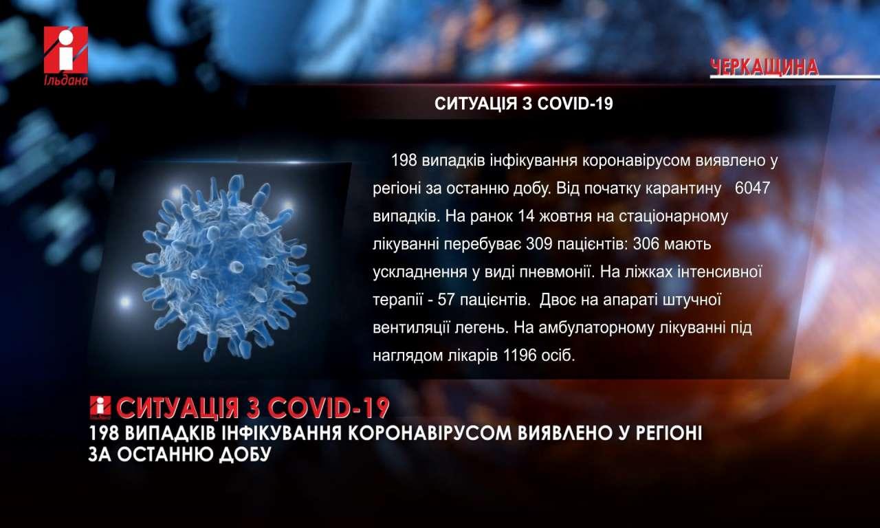 Ситуація з COVID-19 на Черкащині: два виші перейшли на дистанційне навчання (ВІДЕО)