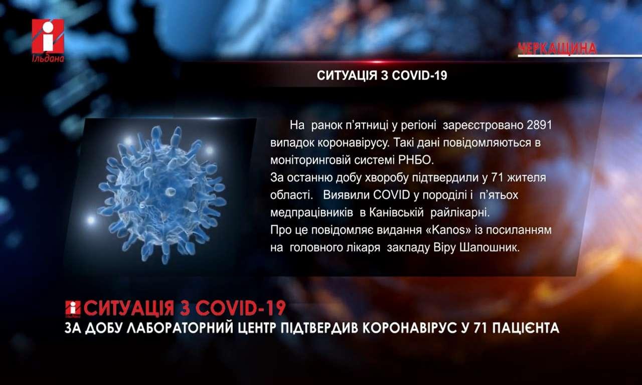 Ситуація з COVID-19: вірус виявили у породілі і п'ятьох медпрацівників в Канівській райлікарні (ВІДЕО)