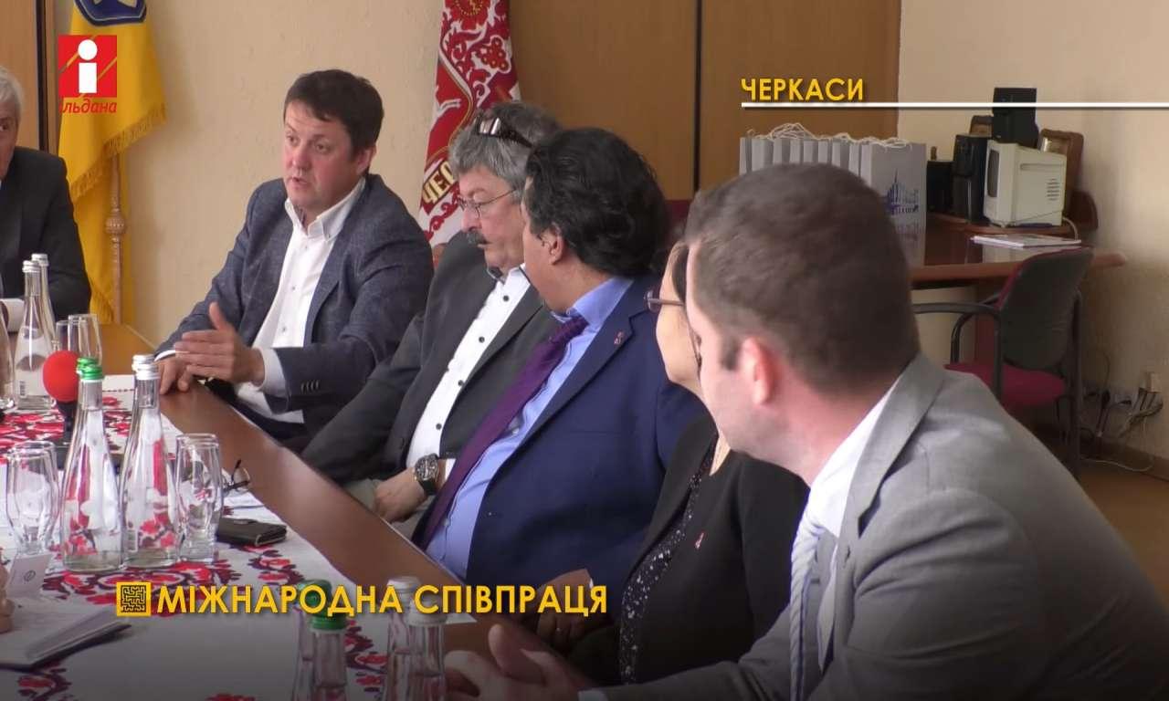 До Черкас завітала делегація міжнародної  компанії «Кірш Фарма» (ВІДЕО)