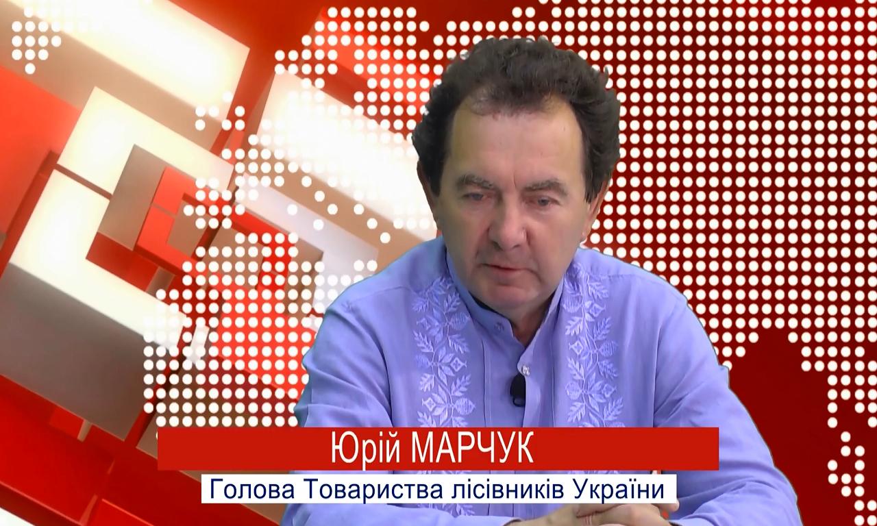 «Ліс - це місце, де працює понад 170 тисяч українців», - Ю. Марчук (ВІДЕО)