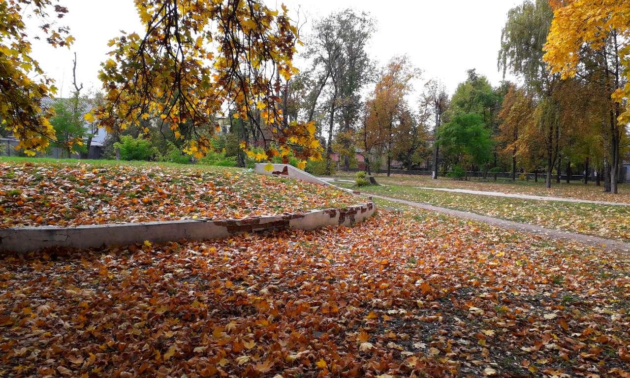 Осінні фарби золотоніського парку (ФОТОРЕПОРТАЖ)-1044