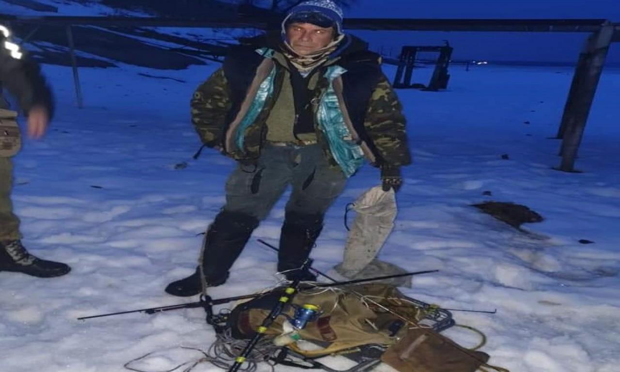 У Липівському заказнику знову затримано 10 браконьєрів