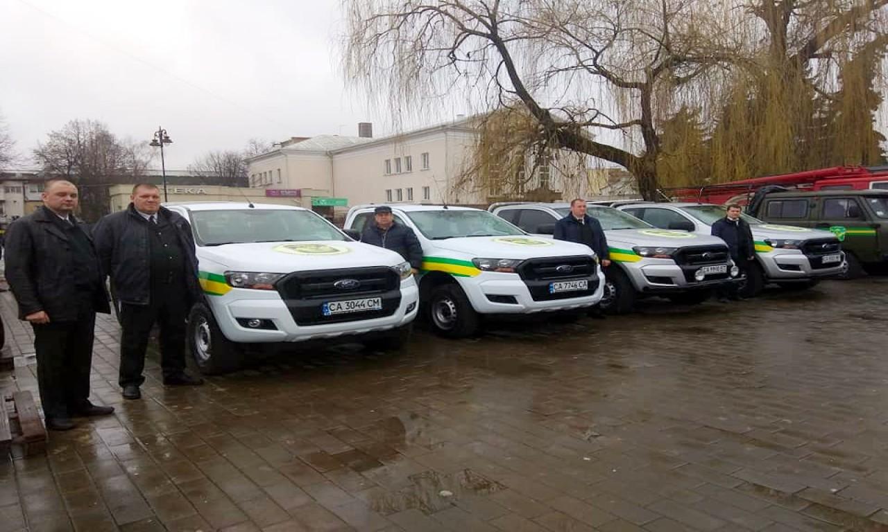 Черкащани представили лісовий патруль на з'їзді лісівників України