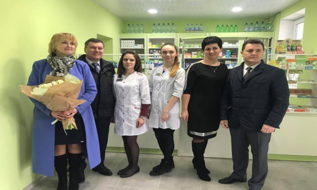 Поблизу обласної лікарні відкрили ще одну аптеку «Фармації»