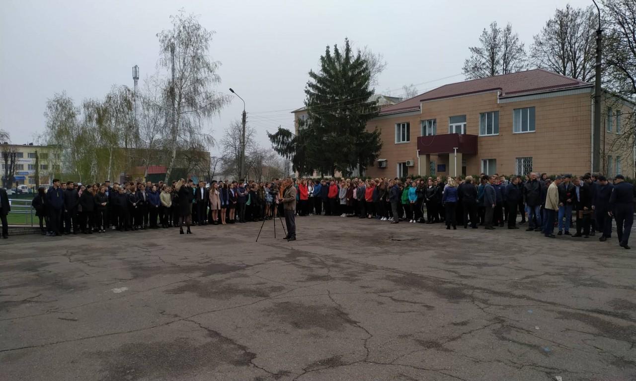 У Чорнобаї відкрився турнір пам'яті майора міліції О. Г. Слинька-293