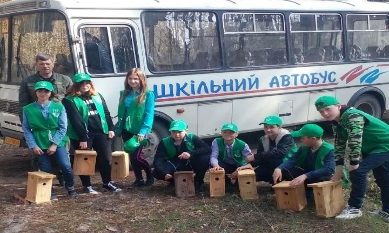 Близько 600 шпаківень розмістили лісівники Корсунь-Шевченківського лісгоспу