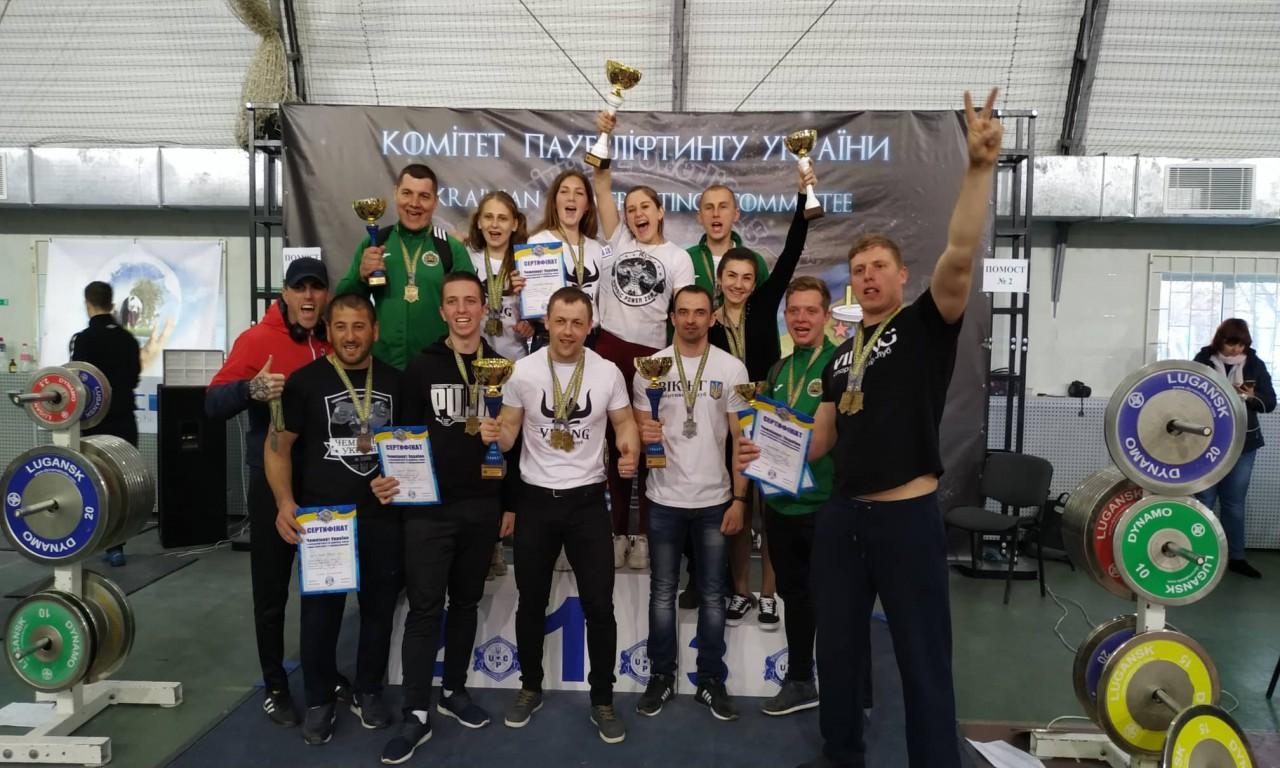 Чорнобаївські «ВІКІНГи» повернулися з фантастичними результатами з чемпіонату України