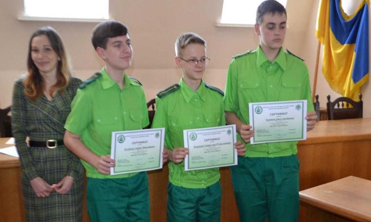 Третє місце Міжнародного конкурсу «Молодь в лісах Європи» вибороли чигиринські школярі