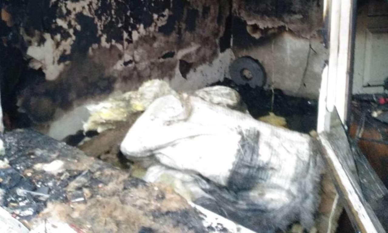Знову жертва пожежі в Черкасах - любитель палити в ліжку (ФОТО)