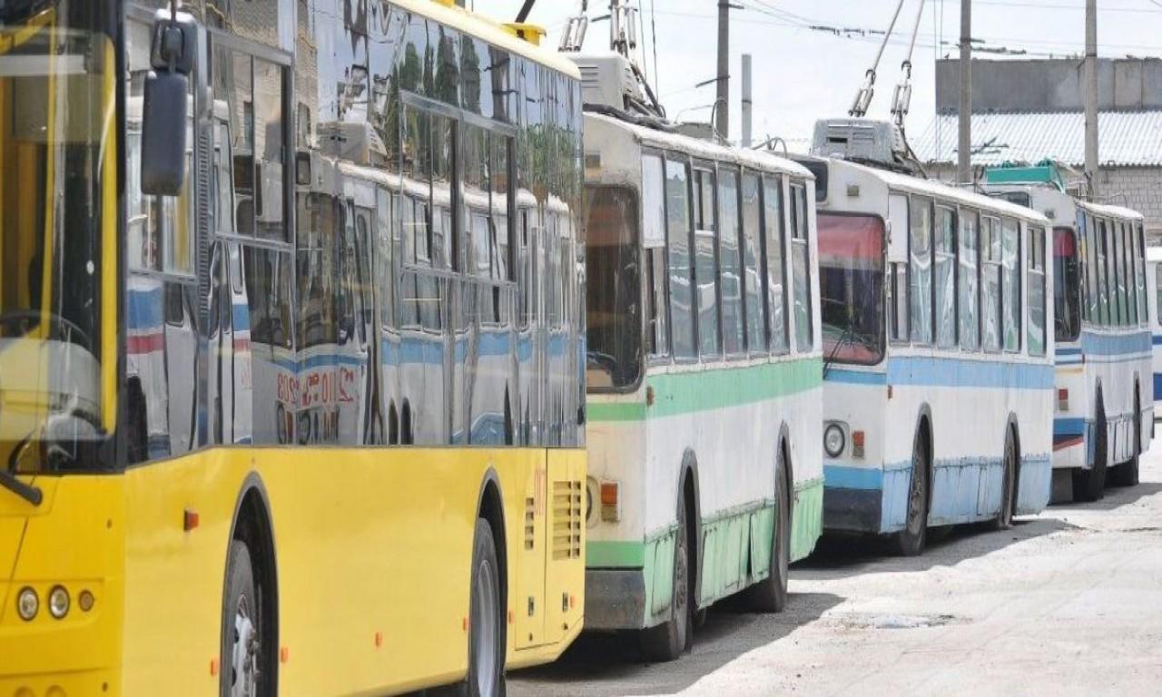 Сьогодні тролейбуси кількох маршрутів ходитимуть до Річкового порту