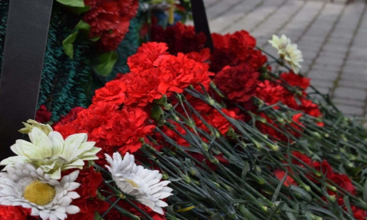 Загиблих доровольців вшанували покладанням квітів-252