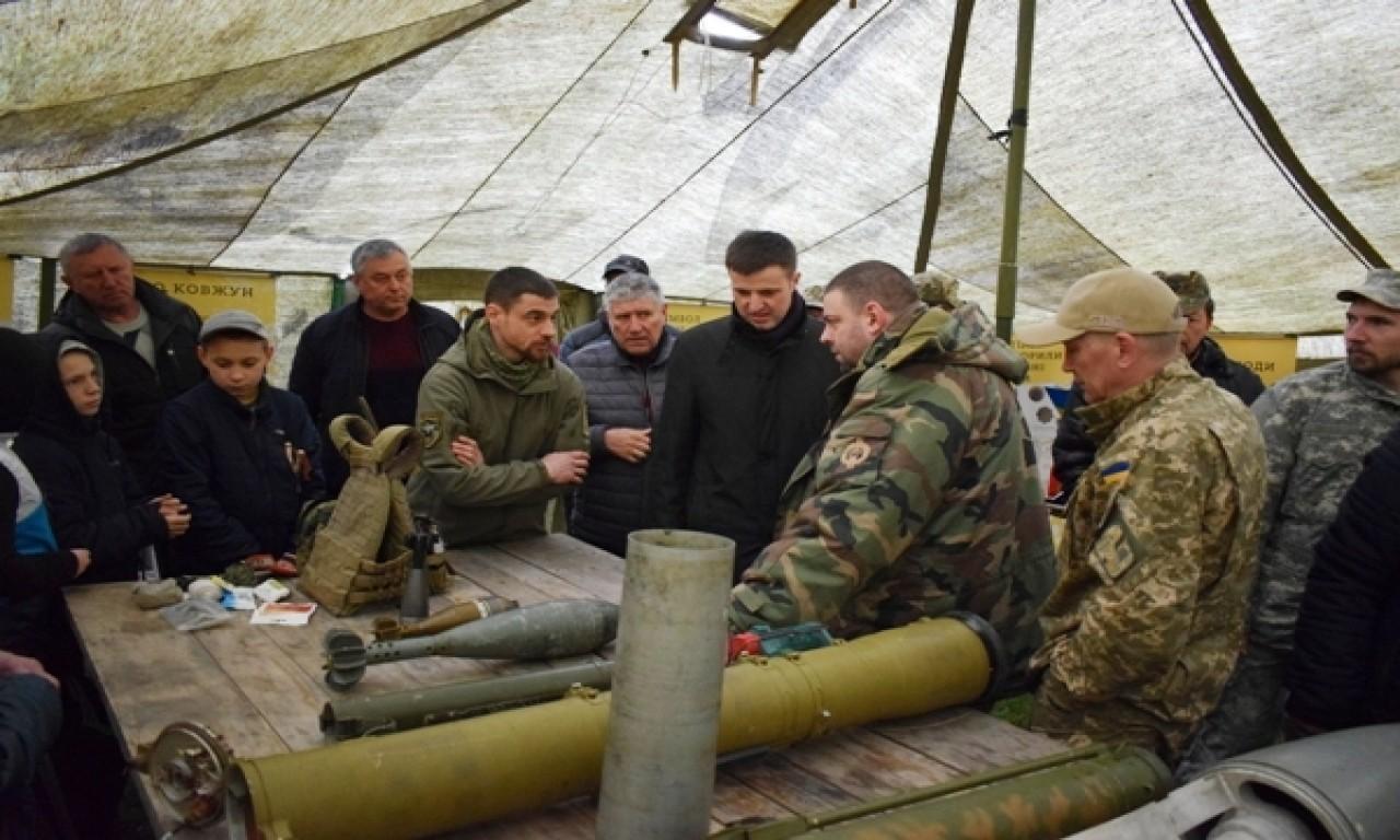 На Чигиринщині згадували героїв боротьби за Україну - нинішніх і колишніх