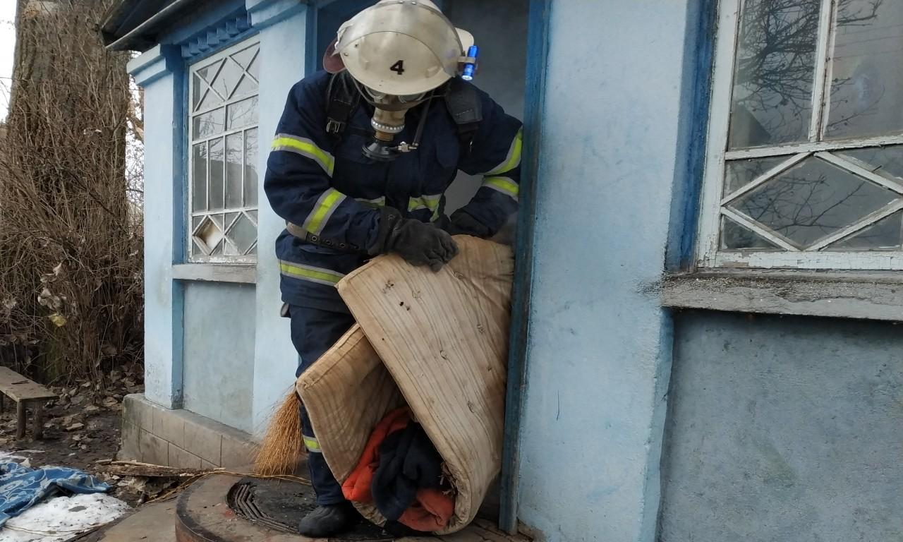 На Городищині в пожежі загинув пенсіонер