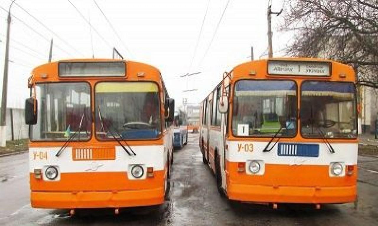 Сьогодні тролейбуси ходитимуть лише до центру