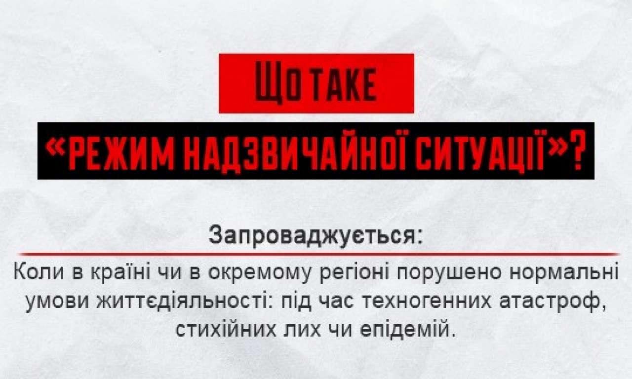Кабмін запровадив надзвичайну ситуацію у Черкаській області